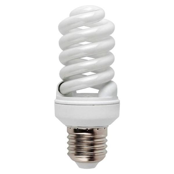 Bec energy saving micro spiral E27 15W 3000K cold light 16622 Faro Barcelona, Becuri E27, Corpuri de iluminat, lustre, aplice a