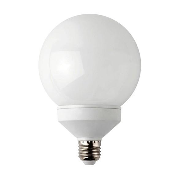 Bec energy saving globe E27 23W 5000K cold light 16515 Faro Barcelona, Becuri E27, Corpuri de iluminat, lustre, aplice a