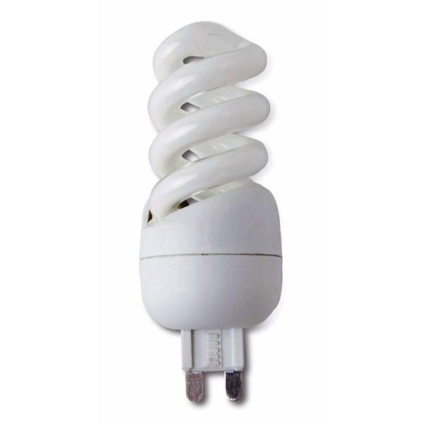 Bec energy saving G9 ICECREAM 9W warm light 13027 Faro Barcelona, Becuri halogene, Corpuri de iluminat, lustre, aplice a