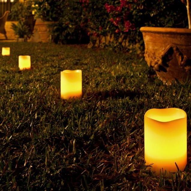 Set de 6 lumanari decorative cu LED si telecomanda 521566, Lampi LED si Telecomanda, Corpuri de iluminat, lustre, aplice a