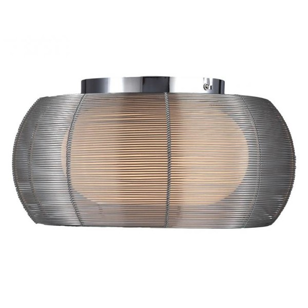 Plafonier modern diam.40cm argintiu Tango MX1104-2,  a