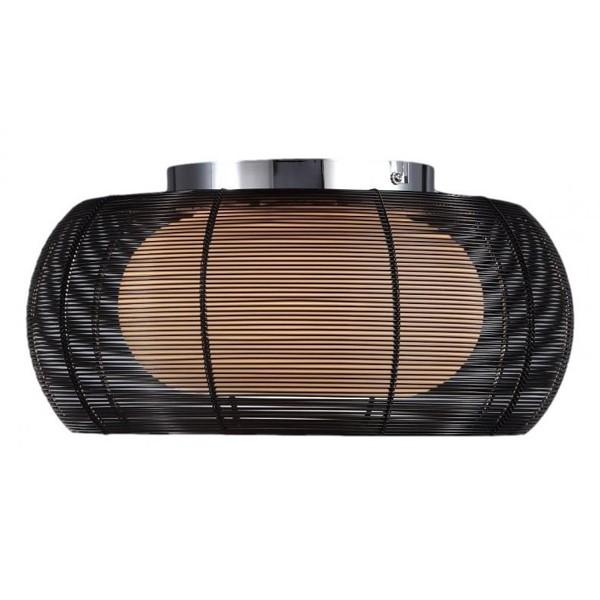 Plafonier modern diam.40cm negru Tango MX1104-2,  a