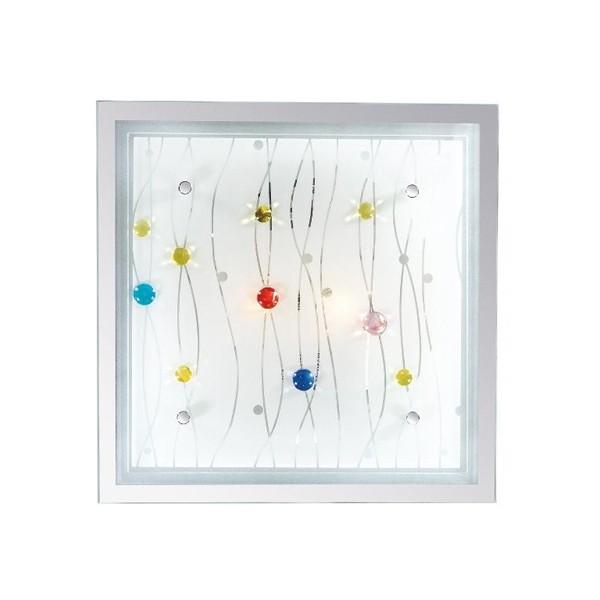 Aplica de perete, Plafonier dim. 33,5x33,5cm Ocean PL2 Color 091006,  a