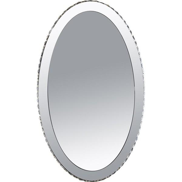 Oglinda decorativa moderna cu cristale K9 si LED, dim.60x100cm Marilyn 1 67038-44 GL, Oglinzi pentru baie, Corpuri de iluminat, lustre, aplice, veioze, lampadare, plafoniere. Mobilier si decoratiuni, oglinzi, scaune, fotolii. Oferte speciale iluminat interior si exterior. Livram in toata tara.  a