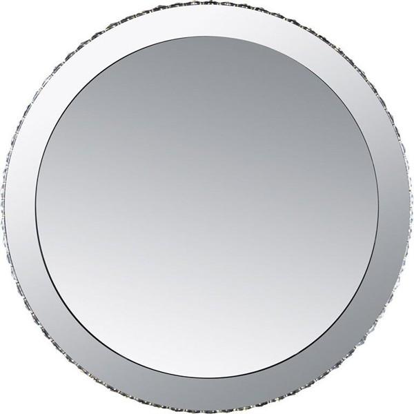 Oglinda decorativa moderna cu cristale K9 si LED, diam.80cm Marilyn 1 67037-44 GL, Oglinzi pentru baie, Corpuri de iluminat, lustre, aplice, veioze, lampadare, plafoniere. Mobilier si decoratiuni, oglinzi, scaune, fotolii. Oferte speciale iluminat interior si exterior. Livram in toata tara.  a