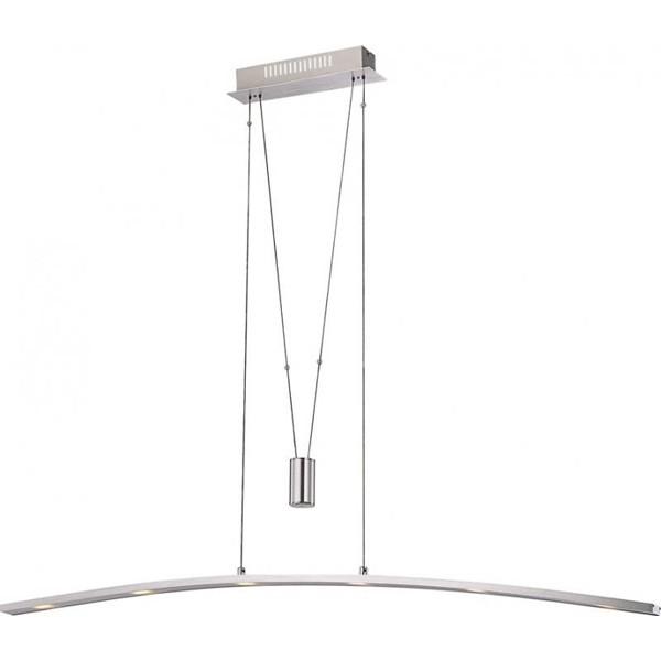 Lustra, Pendul modern, inaltime reglabila, L-120,5cm LED Mauricio 68024-6Z GL, Lustre LED, Pendule LED, Corpuri de iluminat, lustre, aplice a