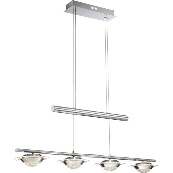 Lustra, Pendul inaltime reglabila LED Asia 68028-4 GL, Lustre LED, Pendule LED, Corpuri de iluminat, lustre, aplice a