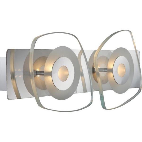Aplica de perete LED Zarima 41710-2 GL, Aplice de perete LED, Corpuri de iluminat, lustre, aplice, veioze, lampadare, plafoniere. Mobilier si decoratiuni, oglinzi, scaune, fotolii. Oferte speciale iluminat interior si exterior. Livram in toata tara.  a