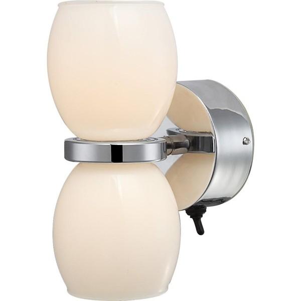 Aplica de perete IP44, LED Dano 44200-2W GL, CORPURI DE ILUMINAT INTERIOR MODERN, Corpuri de iluminat, lustre, aplice, veioze, lampadare, plafoniere. Mobilier si decoratiuni, oglinzi, scaune, fotolii. Oferte speciale iluminat interior si exterior. Livram in toata tara.  a