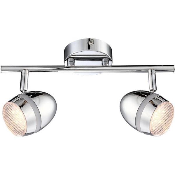 Aplica de perete LED Manjola 56206-2 GL, Aplice de perete LED, Corpuri de iluminat, lustre, aplice, veioze, lampadare, plafoniere. Mobilier si decoratiuni, oglinzi, scaune, fotolii. Oferte speciale iluminat interior si exterior. Livram in toata tara.  a