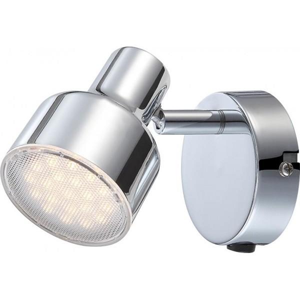 Aplica de perete LED Rois 56213-1 GL, Aplice de perete LED, Corpuri de iluminat, lustre, aplice, veioze, lampadare, plafoniere. Mobilier si decoratiuni, oglinzi, scaune, fotolii. Oferte speciale iluminat interior si exterior. Livram in toata tara.  a