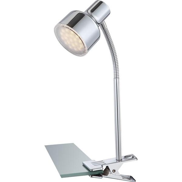 Veioza, lampa de masa cu clip, flexibila, LED Rois 56213-1K GL, Veioze LED, Lampadare LED, Corpuri de iluminat, lustre, aplice a