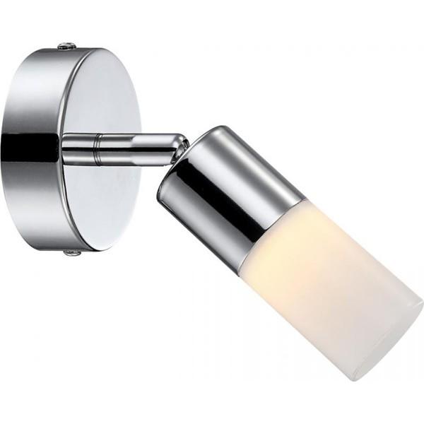 Aplica de perete LED Spina 56216-1 GL, Aplice de perete LED, Corpuri de iluminat, lustre, aplice, veioze, lampadare, plafoniere. Mobilier si decoratiuni, oglinzi, scaune, fotolii. Oferte speciale iluminat interior si exterior. Livram in toata tara.  a
