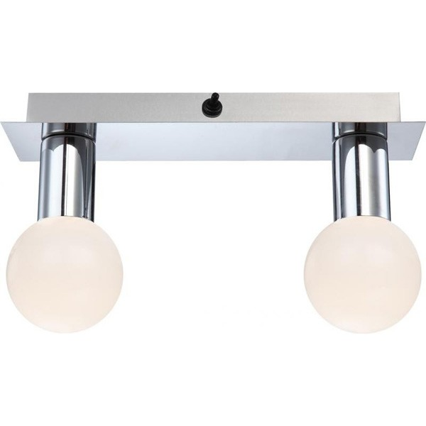 Lustra, Plafoniera IP44 LED Solig 44202-2 GL, Plafoniere LED, Spoturi LED, Corpuri de iluminat, lustre, aplice a