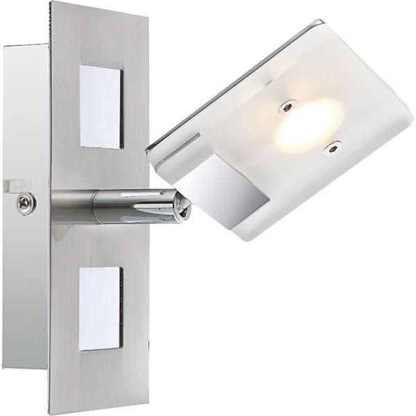 Aplica de perete, spot directionabil LED Kamala 56209-1 GL, Aplice de perete LED, Corpuri de iluminat, lustre, aplice, veioze, lampadare, plafoniere. Mobilier si decoratiuni, oglinzi, scaune, fotolii. Oferte speciale iluminat interior si exterior. Livram in toata tara.  a