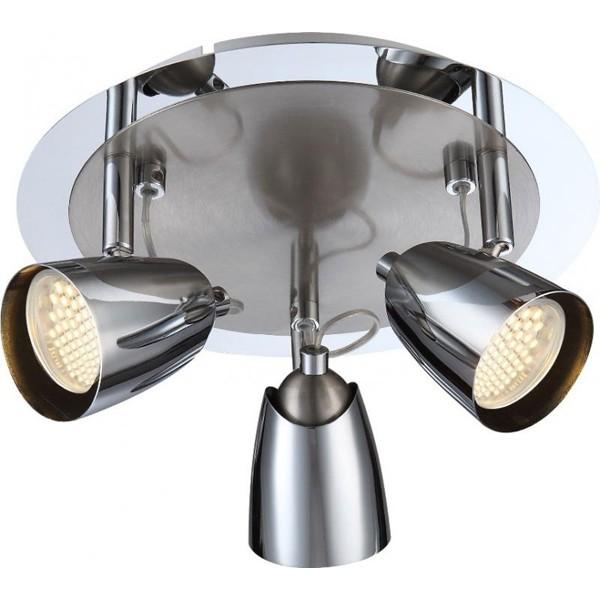 Lustra, Plafonier cu 3 spoturi directionabile LED Tamas 57604-3 GL, Plafoniere LED, Spoturi LED, Corpuri de iluminat, lustre, aplice a
