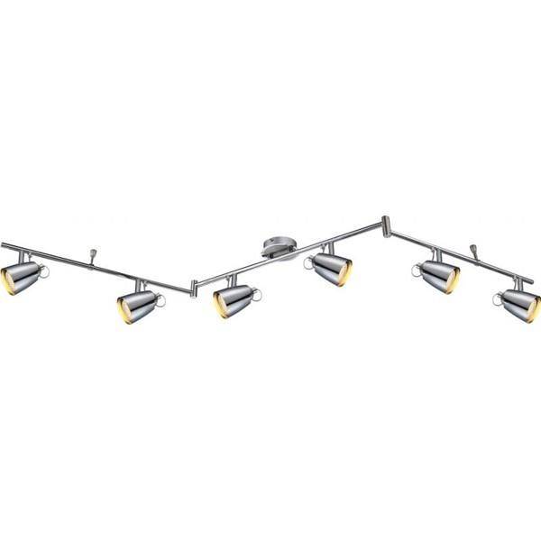 Lustra, Plafonier cu 6 spoturi directionabile LED Tamas 57604-6 GL, Plafoniere LED, Spoturi LED, Corpuri de iluminat, lustre, aplice a