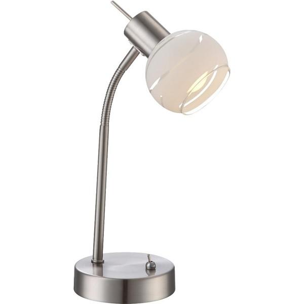 Veioza, lampa de masa flexibila, LED Elliott 54341-1T GL, Veioze LED, Lampadare LED, Corpuri de iluminat, lustre, aplice a