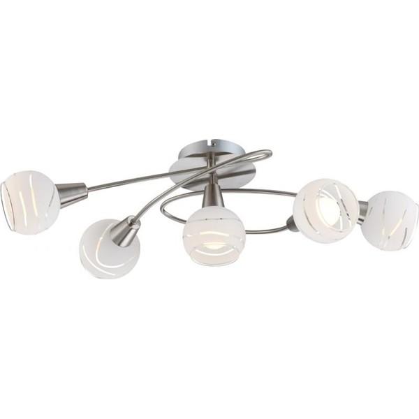 Lustra, Plafonier LED Elliott 54341-5 GL, Plafoniere LED, Spoturi LED, Corpuri de iluminat, lustre, aplice a