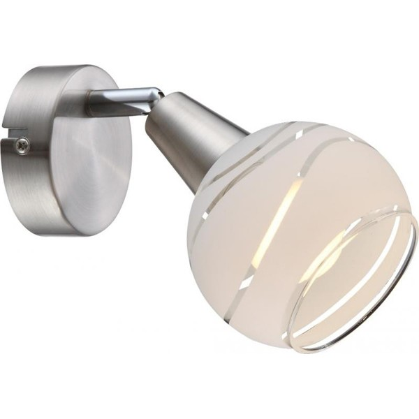 Aplica de perete LED Elliott 54341-1 GL, Aplice de perete LED, Corpuri de iluminat, lustre, aplice, veioze, lampadare, plafoniere. Mobilier si decoratiuni, oglinzi, scaune, fotolii. Oferte speciale iluminat interior si exterior. Livram in toata tara.  a