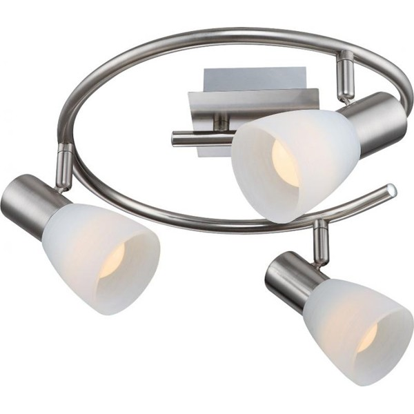 Lustra, Plafonier LED Parry 1 54534-3 GL, ILUMINAT INTERIOR LED , Corpuri de iluminat, lustre, aplice, veioze, lampadare, plafoniere. Mobilier si decoratiuni, oglinzi, scaune, fotolii. Oferte speciale iluminat interior si exterior. Livram in toata tara.  a