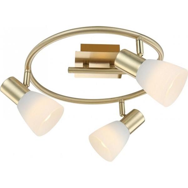Lustra, Plafonier cu 3 spoturi LED Raider 1 54538-3 GL, ILUMINAT INTERIOR LED , Corpuri de iluminat, lustre, aplice, veioze, lampadare, plafoniere. Mobilier si decoratiuni, oglinzi, scaune, fotolii. Oferte speciale iluminat interior si exterior. Livram in toata tara.  a