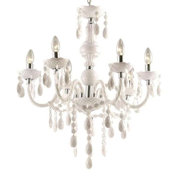 Candelabru 6 brate diametru 67cm Cuimbra I 63113-6 GL, Candelabre, Lustre moderne, Corpuri de iluminat, lustre, aplice a