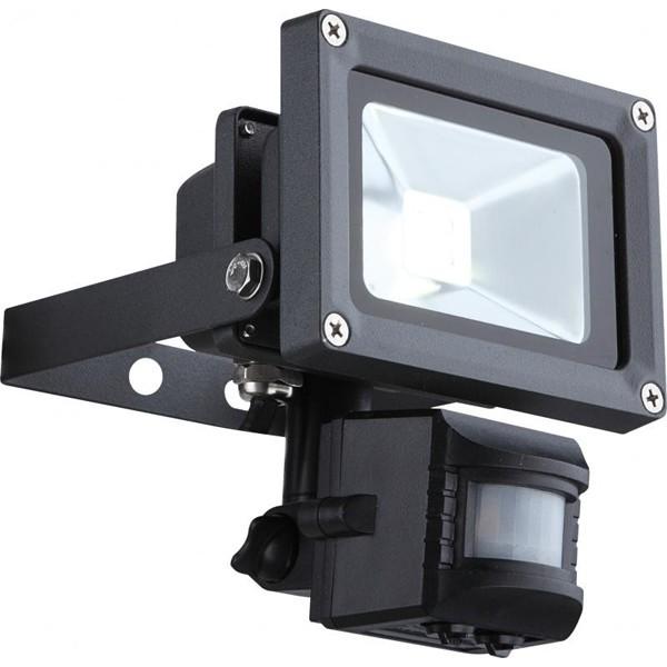 Proiector exterior cu senzor, dim.11,5x15cm, IP44, LED Projecteur 34114S GL, Iluminat cu senzor de miscare, Corpuri de iluminat, lustre, aplice a