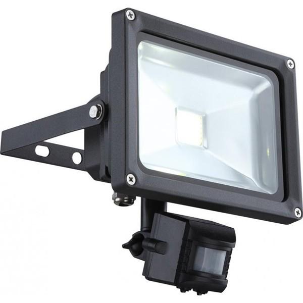 Proiector exterior cu senzor, dim.18x19,5cm, IP44, LED Projecteur 34115S GL, Iluminat cu senzor de miscare, Corpuri de iluminat, lustre, aplice a