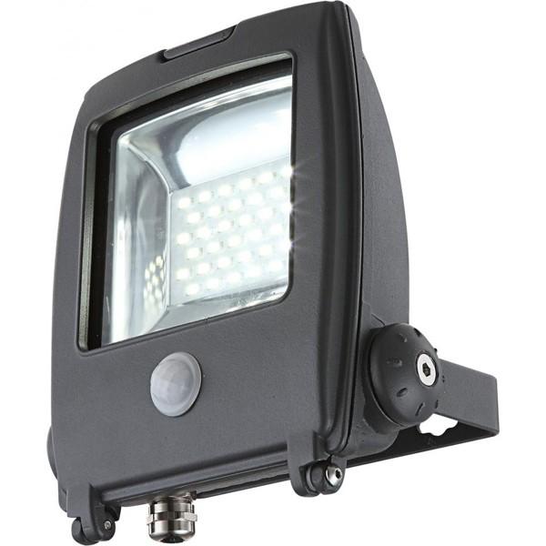Proiector exterior cu senzor,dim.17x18,5cm, IP65,LED Projecteur I 34219S GL, Iluminat cu senzor de miscare, Corpuri de iluminat, lustre, aplice a