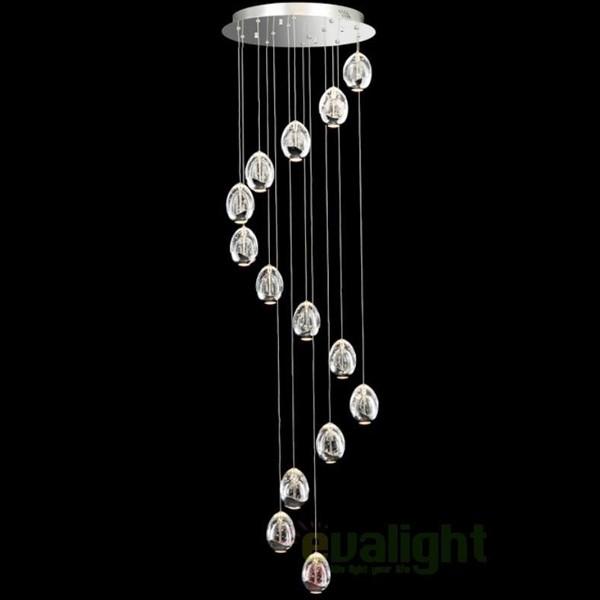 Pendul modern LED diametru 50cm ROCIO 785635, ILUMINAT INTERIOR LED , Corpuri de iluminat, lustre, aplice, veioze, lampadare, plafoniere. Mobilier si decoratiuni, oglinzi, scaune, fotolii. Oferte speciale iluminat interior si exterior. Livram in toata tara.  a
