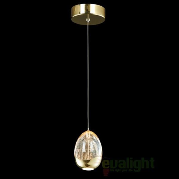 Pendul modern LED diametru 9cm ROCIO auriu 784347, Promotii si Reduceri⭐ Oferte ✅Corpuri de iluminat ✅Lustre ✅Mobila ✅Decoratiuni de interior si exterior.⭕Pret redus online➜Lichidari de stoc❗ Magazin ➽ www.evalight.ro. a