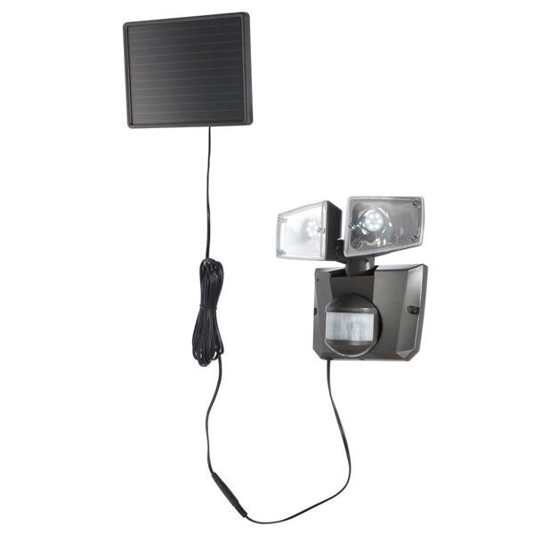 Reflector solar cu senzor, LED, IP44, 3717S GL, Iluminat cu senzor de miscare, Corpuri de iluminat, lustre, aplice a