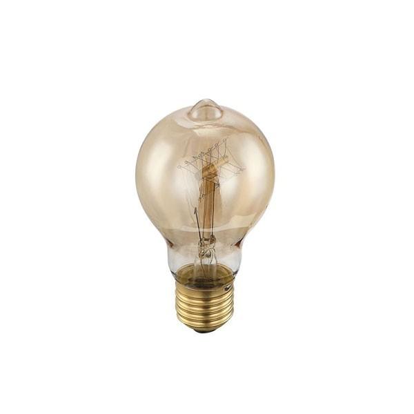 Bec EDISON deco vintage E27 60 Watt 11403 GL, Becuri E27, Corpuri de iluminat, lustre, aplice a