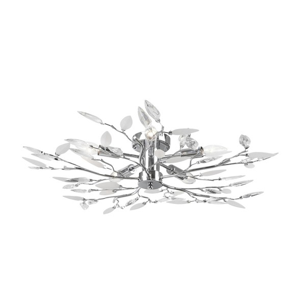 Lustra eleganta Vida 63160-5 GL, Lustre moderne aplicate, Corpuri de iluminat, lustre, aplice, veioze, lampadare, plafoniere. Mobilier si decoratiuni, oglinzi, scaune, fotolii. Oferte speciale iluminat interior si exterior. Livram in toata tara.  a