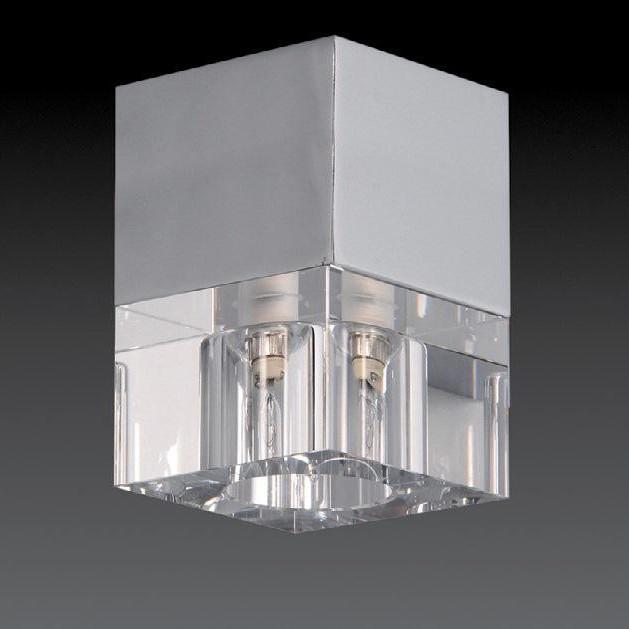 Plafonier, Spot dim.9x9cm, Ice 57-0721 MX, Spoturi incastrate, aplicate - tavan / perete, Corpuri de iluminat, lustre, aplice a