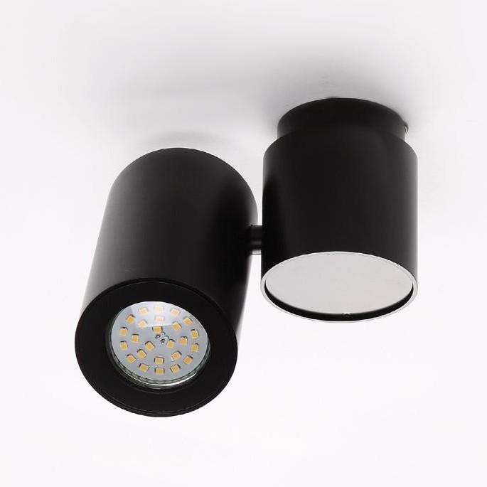 Plafonier, Spot orientabil Barro negru C0035 MX, Spoturi incastrate, aplicate - tavan / perete, Corpuri de iluminat, lustre, aplice, veioze, lampadare, plafoniere. Mobilier si decoratiuni, oglinzi, scaune, fotolii. Oferte speciale iluminat interior si exterior. Livram in toata tara.  a