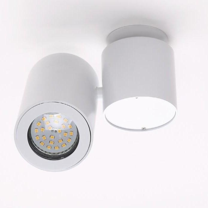 Plafonier, Spot orientabil Barro alb C0036 MX, Spoturi incastrate, aplicate - tavan / perete, Corpuri de iluminat, lustre, aplice, veioze, lampadare, plafoniere. Mobilier si decoratiuni, oglinzi, scaune, fotolii. Oferte speciale iluminat interior si exterior. Livram in toata tara.  a