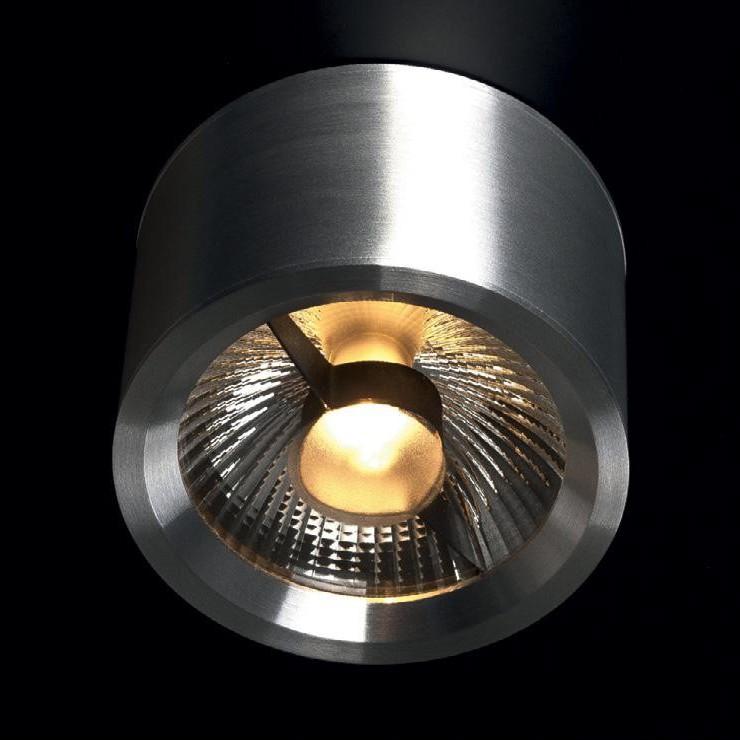 Spot modern aplicat diam.12cm, H-8cm, Form ES 200811 MX, Spoturi incastrate, aplicate - tavan / perete, Corpuri de iluminat, lustre, aplice, veioze, lampadare, plafoniere. Mobilier si decoratiuni, oglinzi, scaune, fotolii. Oferte speciale iluminat interior si exterior. Livram in toata tara.  a
