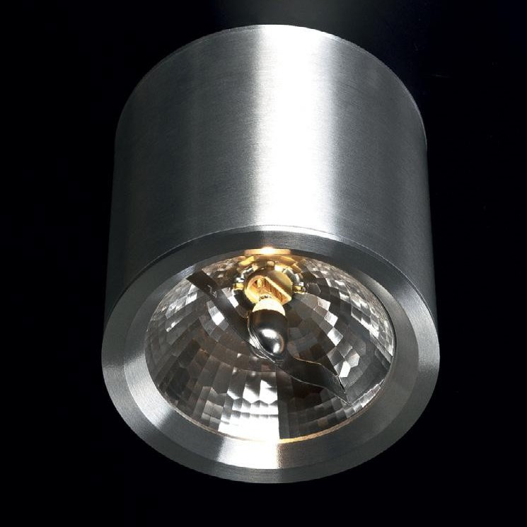 Spot modern aplicat diam.12cm, H-12cm, Form QR 200911 MX, Spoturi incastrate, aplicate - tavan / perete, Corpuri de iluminat, lustre, aplice a