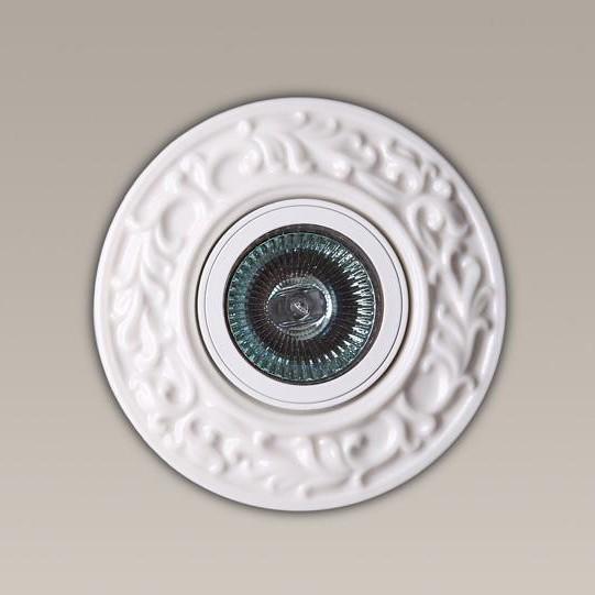 Spot incastrat diam.11cm, Ceramic II H0032 MX, Spoturi incastrate, aplicate - tavan / perete, Corpuri de iluminat, lustre, aplice a