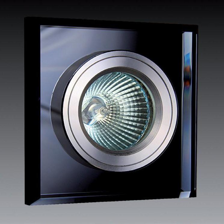 Spot incastrat dim.9x9cm, 9901 Black MX, Spoturi incastrate, aplicate - tavan / perete, Corpuri de iluminat, lustre, aplice a