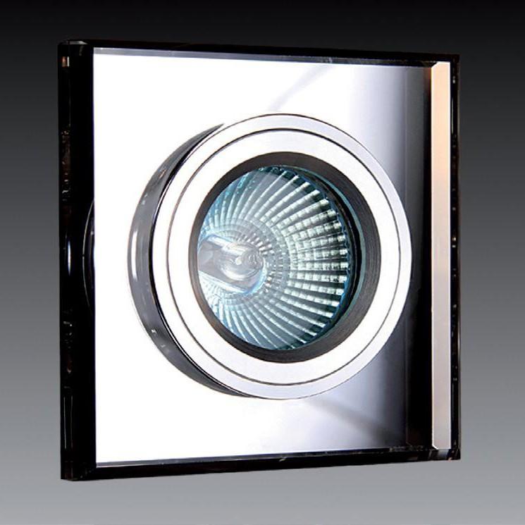 Spot incastrat dim.9x9cm, 9901 White MX, Spoturi incastrate, aplicate - tavan / perete, Corpuri de iluminat, lustre, aplice a