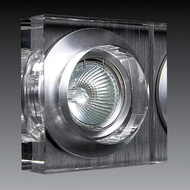 Spot incastrat dim.10x10cm, 9916 S-WHITE MX, Spoturi incastrate, aplicate - tavan / perete, Corpuri de iluminat, lustre, aplice a
