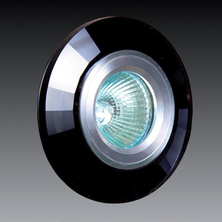 Spot incastrat diam.9,5cm, 9923 BLACK MX, Spoturi incastrate, aplicate - tavan / perete, Corpuri de iluminat, lustre, aplice a