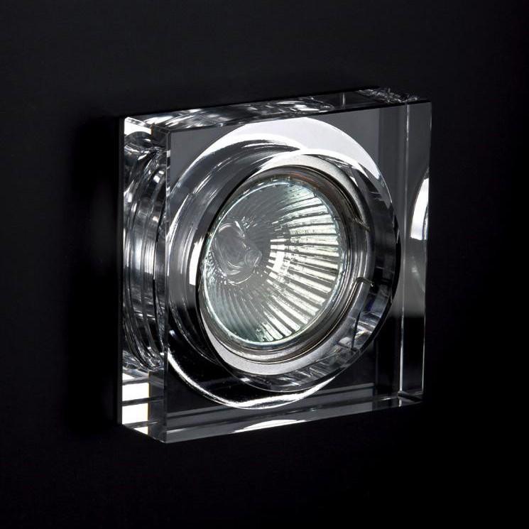Spot incastrat dim.8x8cm, 9957 WHITE MX, Spoturi incastrate, aplicate - tavan / perete, Corpuri de iluminat, lustre, aplice a