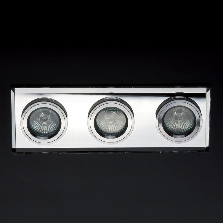 Spot incastrat dim.25,5x9cm, DK-03WHITE MX, Spoturi incastrate, aplicate - tavan / perete, Corpuri de iluminat, lustre, aplice a