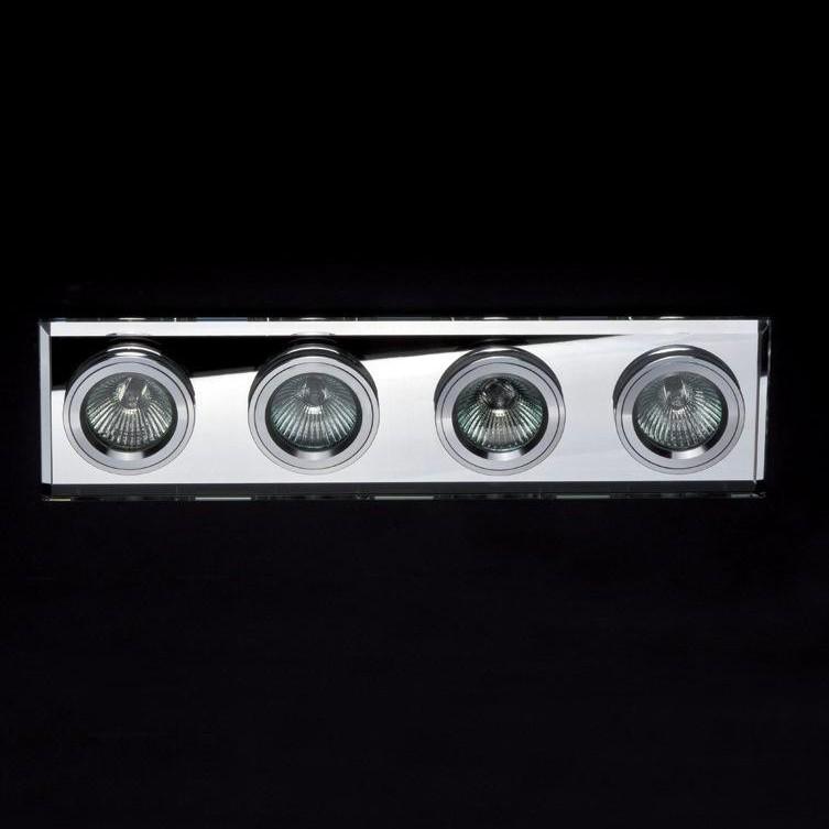 Spot incastrat dim.35,5x9cm, DK-04WHITE MX, Spoturi incastrate, aplicate - tavan / perete, Corpuri de iluminat, lustre, aplice a