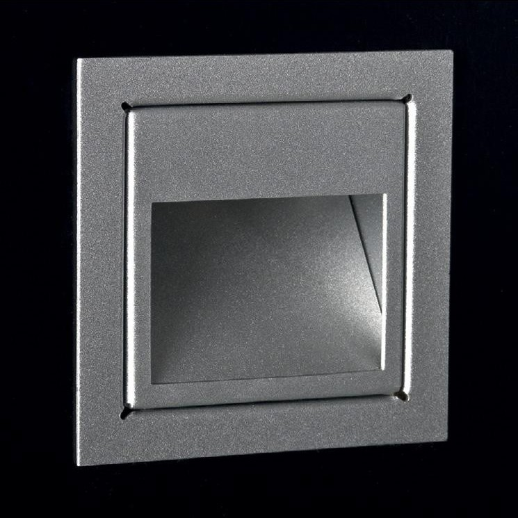 Spot incastrat dim.8x8cm, LED Plano Open LEN.1 MX, Spoturi LED incastrate, aplicate, Corpuri de iluminat, lustre, aplice a