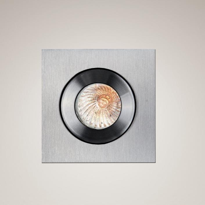 Spot incastrat dim.6x6cm, IP44 Shower H0004 MX, Spoturi incastrate, aplicate - tavan / perete, Corpuri de iluminat, lustre, aplice a